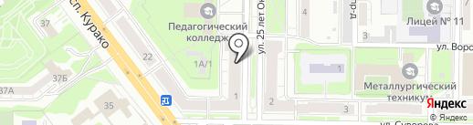 Апелляционный центр обжалования решений судов на карте Новокузнецка