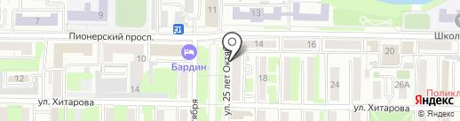 Сибгазмонтаж на карте Новокузнецка