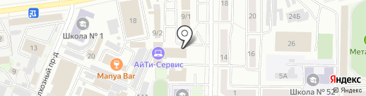 ПрАГо на карте Новокузнецка