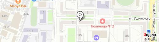 ТеплЭко на карте Новокузнецка