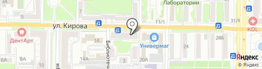 Интер Авто на карте Новокузнецка