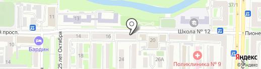 ALIBI на карте Новокузнецка