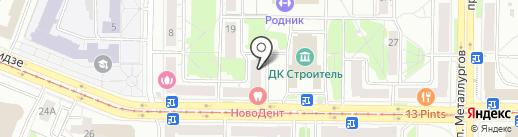 Бизнес-навигатор на карте Новокузнецка