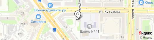 Дядюшка Филин на карте Новокузнецка
