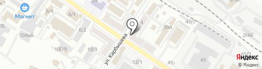 Дорстрой на карте Новокузнецка