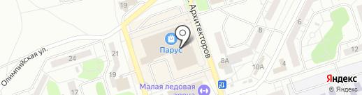 Биосфера на карте Новокузнецка
