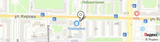 Айди на карте Новокузнецка