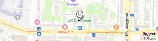 Сапфир на карте Новокузнецка