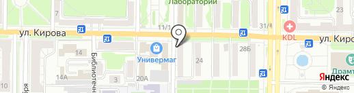Соц фарм на карте Новокузнецка