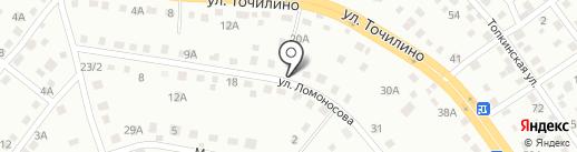 Сибирь Строй на карте Новокузнецка