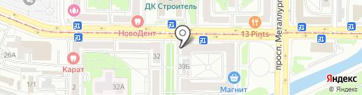 11 Сектор на карте Новокузнецка