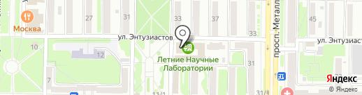 Коза-егоза на карте Новокузнецка