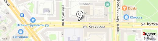 Магазин ягод на карте Новокузнецка