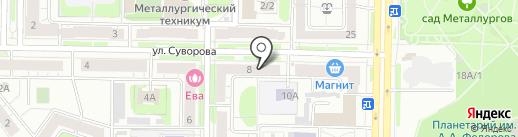 Здоровый капитал на карте Новокузнецка
