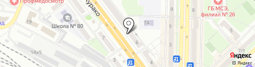 Евросеть на карте Новокузнецка