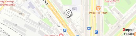 ФОРТ на карте Новокузнецка