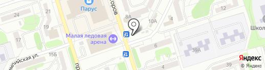 Чудо печка на карте Новокузнецка