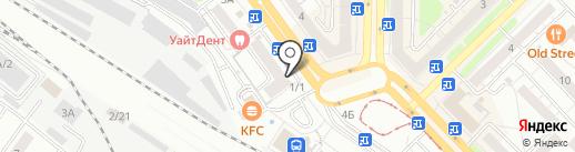 Быстроденьги на карте Новокузнецка