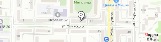 Экодом на карте Новокузнецка