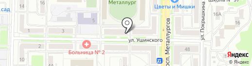 Забота на карте Новокузнецка