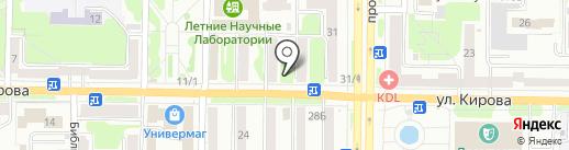 Идеал на карте Новокузнецка