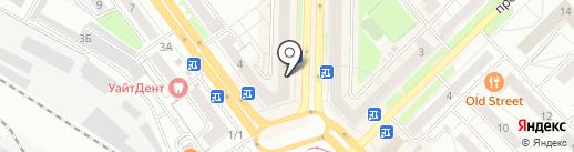 Апельсин на карте Новокузнецка