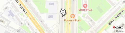 КОМПАНИЯ НИЗКИХ ЦЕН на карте Новокузнецка
