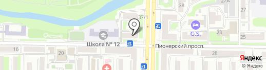 ViStep.RU на карте Новокузнецка