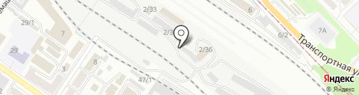 Фазерс-фиш на карте Новокузнецка