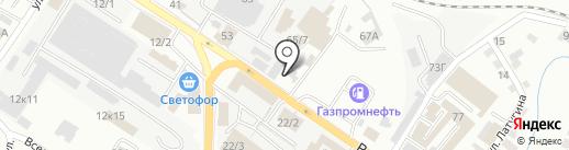 РитуалКамень на карте Новокузнецка