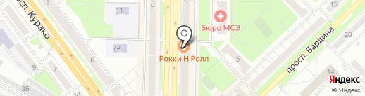 Галерея обуви на карте Новокузнецка