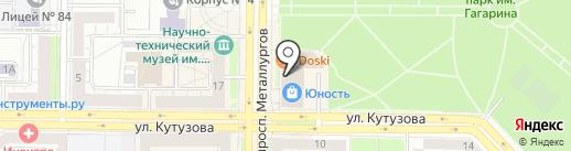 Королевство массажа на карте Новокузнецка