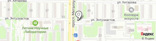 ФилКом на карте Новокузнецка
