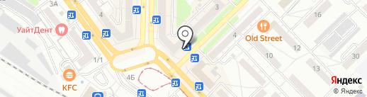 Магазин по продаже цветов на карте Новокузнецка