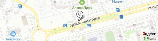 Светлячок на карте Новокузнецка