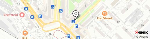 Наджиб на карте Новокузнецка