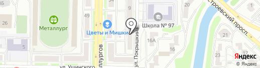 Экспресс-Импорт на карте Новокузнецка