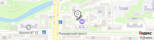 Closed на карте Новокузнецка
