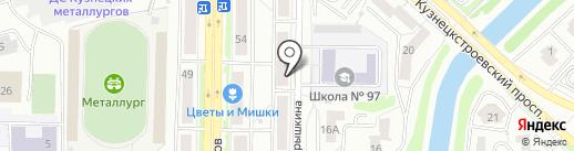 ТехноПарт на карте Новокузнецка