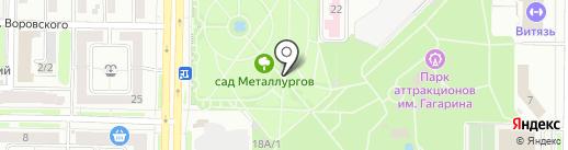 Старт на карте Новокузнецка