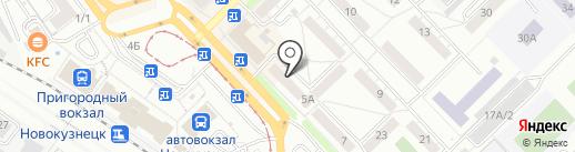 Фармакопейка на карте Новокузнецка