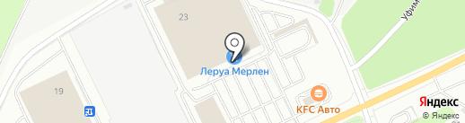 Ланч Кафе на карте Новокузнецка