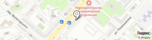 Агентство юридических услуг на карте Новокузнецка