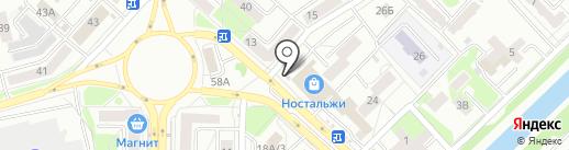 Огород на карте Новокузнецка