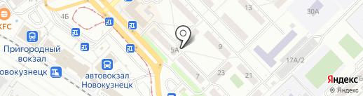 Специализированный магазин элитных напитков на карте Новокузнецка