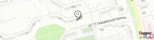 Кабинет психологической помощи Антонины Гаус на карте Новокузнецка