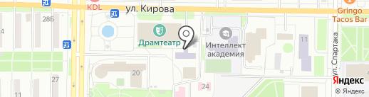 АССОЦИАЦИЯ ПРОФЕССИОНАЛЬНЫХ БУХГАЛТЕРОВ на карте Новокузнецка
