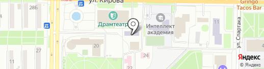 Альянс-Авто на карте Новокузнецка