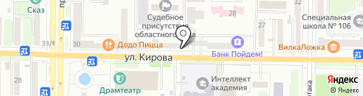 КБ Пойдём! на карте Новокузнецка
