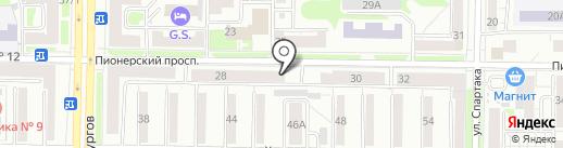 Майн Радио Системз-Р на карте Новокузнецка